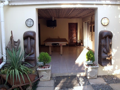 Courtyard & pool room TeTemuka B&B Kokstad KwaZulu-Natal South Africa