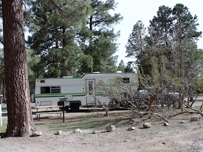5th-wheel KOA Flagstaff Arizona
