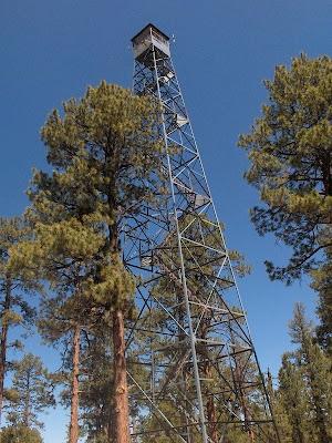 Fire tower Jacob Lake Kaibab National Forest Arizona