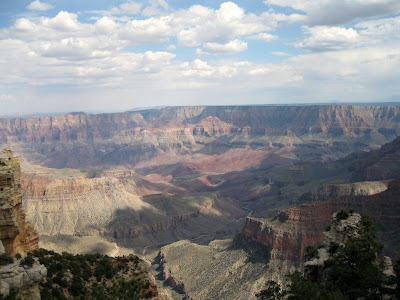 View from Cape Royal North Rim Grand Canyon National Park Arizona