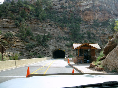 Second tunnel Zion National Park Utah