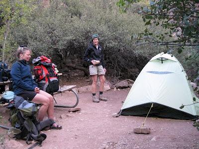 Cottonwood camp North Kaibab trail Grand Canyon National Park Arizona