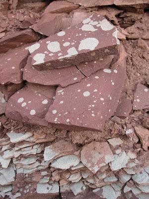 Bright Angel shale North Kaibab trail Grand Canyon National Park Arizona