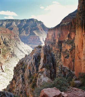 Eye of the Needle North Kaibab trail Grand Canyon National Park Arizona