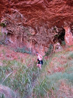 Ribbon Falls North Kaibab trail Grand Canyon National Park Arizona