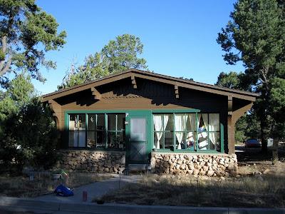 Historic house South Rim Grand Canyon National Park Arizona