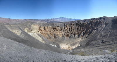 Ubehebe Crater Death Valley National Park California