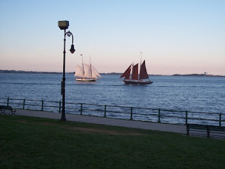 photo from Castle Island, South Boston, MA