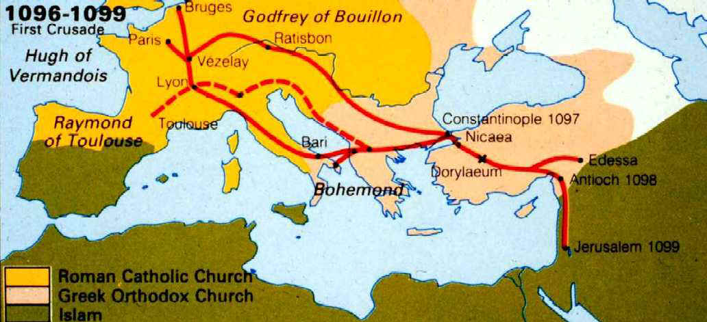 An overview of the first crusade on jerusalem