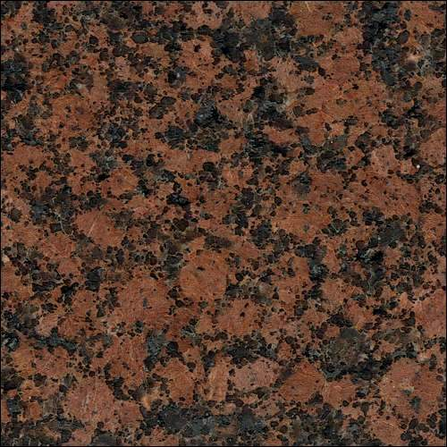 Blue Flower Granite Gravity Marble & Granite: Baltic Red