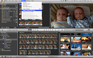 What I Learned Today: Export from iMovie to play on