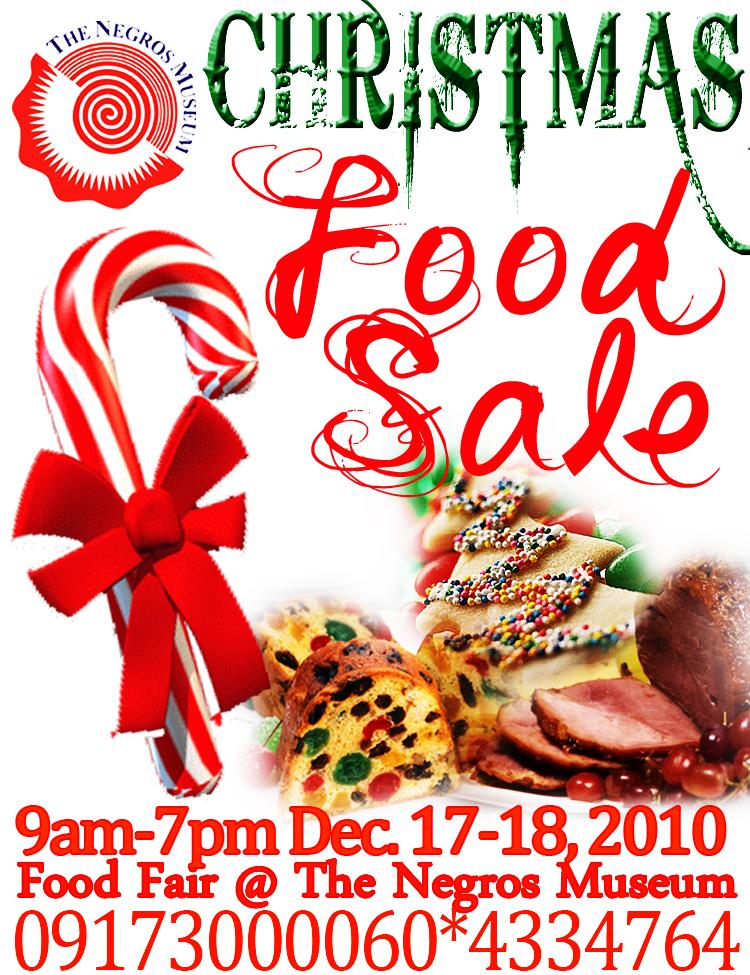 Food Sale: Negros Museum: Negros Museum's Christmas Food Sale