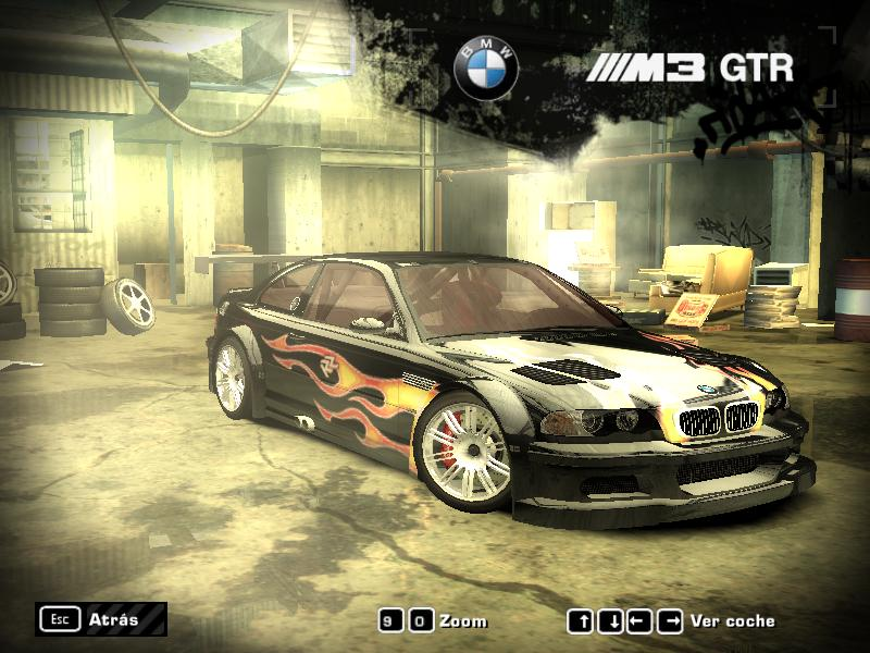 Nfs Most Wanted Bmw M3 Gtr Vinyl