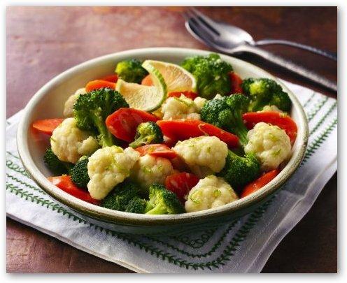 El rincon del chef verduras al vapor con mantequilla - Como cocinar verduras al vapor ...