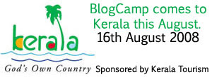 The Kerala's First Unconference sponsored by Kerala Tourism will be conducted on August 16th, at Alapuzha