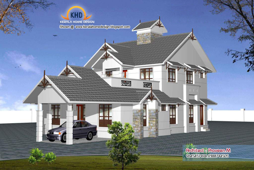 Some kerala style sweet home 3d designs kerala home for 3d home architect