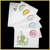 SugarLily Octopus Cards boxed set
