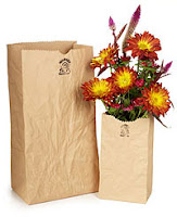 Ceramic Paper Bag vase from Uncommon Goods