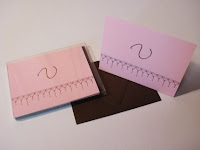 Monogrammed Notecards from Etsy, at MyMomShops