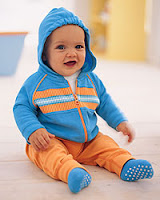 Hanna Andersson baby boy track jacket & pants
