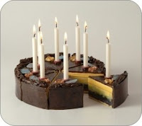 Birthday Cake Candleholder from Ona.com