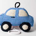 Anne Claire Petit Toys at Rose & Radish :  baby gifts telephone kids crocheted