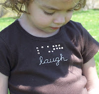 Bitty Braille Tees