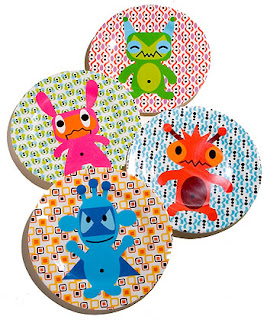 French Bull monster plate- MyMomShops giveaway :  dinnerware baby tabletop plates