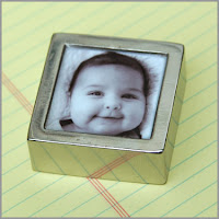 Silver Photo Paperweight by Couture Invito