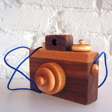 Wooden play camera by Romp Brooklyn :  wooden toys romp kids children