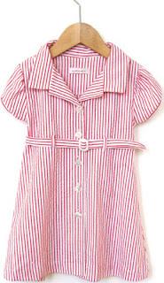 Shirtdress for Girls from Orange Button