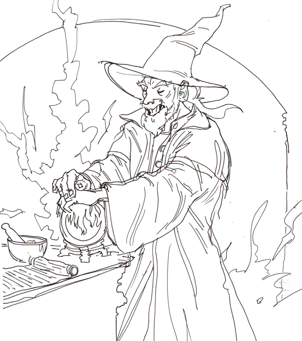 Ben Jelter Art: Are wizards even cool at all?