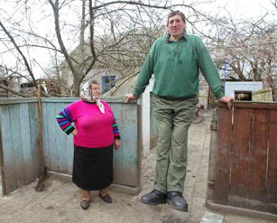 nevertheless a ukrainian is new worlds tallest man