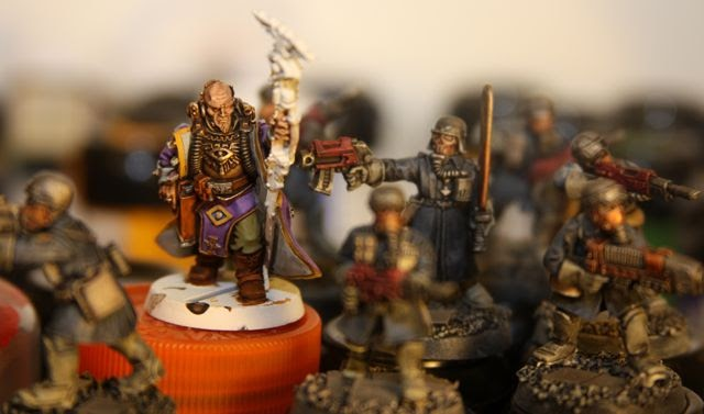 40k Hobby Blog: Armageddon Steel Legion With Psyker