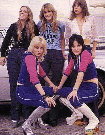 El panteón del heavy metal: Runaways, chicas malas para