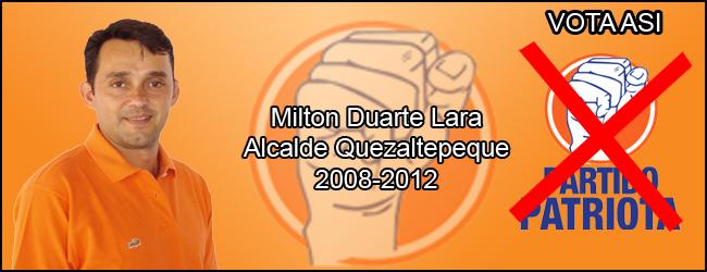 Milton Napoleón Duarte Lara