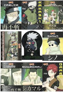 A Pack To Be Named Later: 2006 Panini/Inkworks Naruto: Ninja Ranks