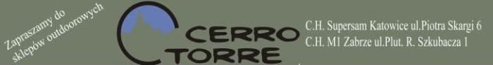 Pomaga nam sklep CerroTorre z Katowic