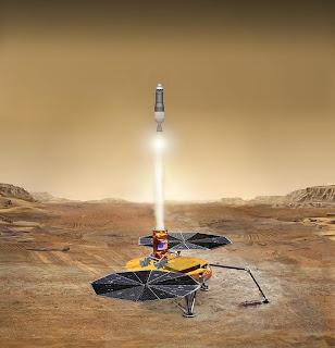 Mars'tan alınan örnekler 10 yıl sonra getirilecek