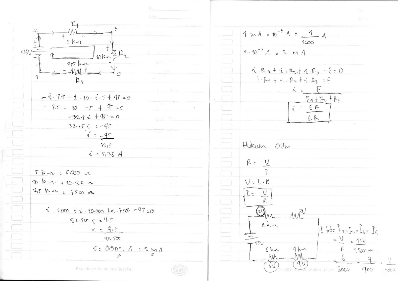 Rika Physics S Blog Hukum Ohm Dan Contoh Soal