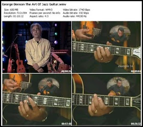 Home Of The Video George Benson The Art Of Jazz Guitar Dvdrip Incl Ebook