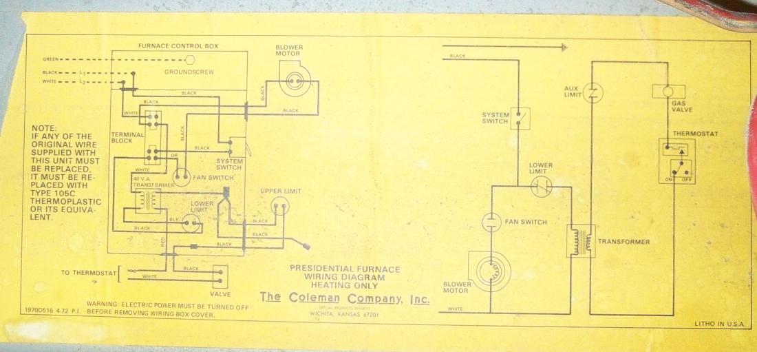 Coleman Wiring Diagram Download Wiring Diagram