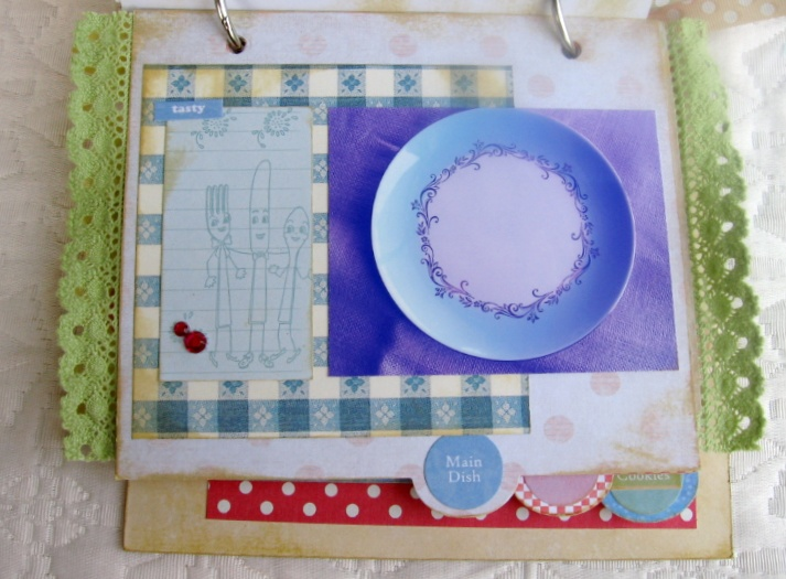 Kitschy Kitchen Recipe Album Kit