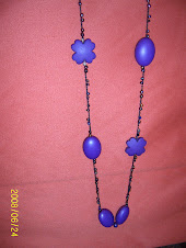 Collar Largo en moztacillas brillantes