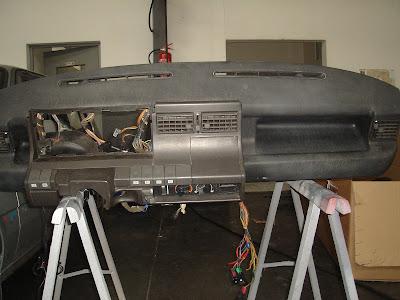 Restauration d une super 5 gt turbo le remontage for Super 5 tableau de bord
