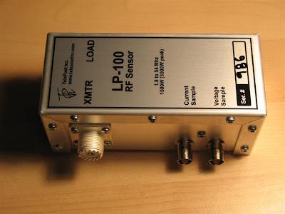 AE1S Amateur Radio Blog: LP100A Vector RF Watt Meter