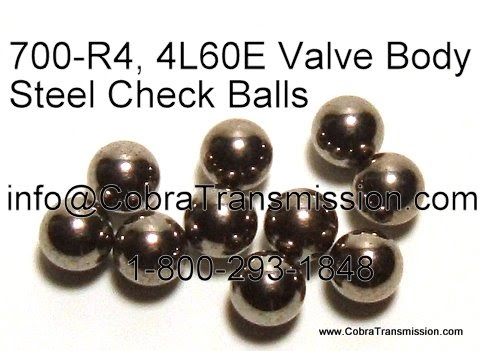 Cobra Transmission Parts 1-800-293-1848 700-R4, 4L60E Valve Body