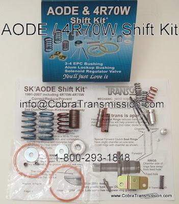 Cobra Transmission Parts 1-800-293-1848: June 2009