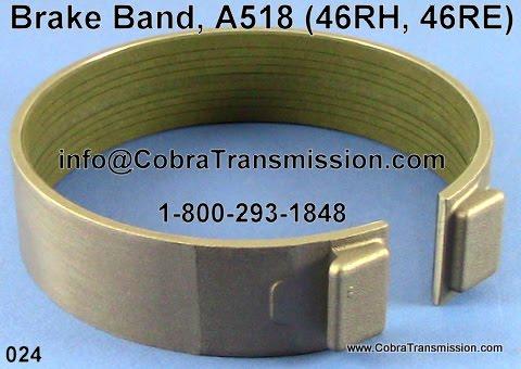 Cobra Transmission Parts 1-800-293-1848: A518, 46RH, 46RE