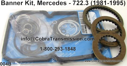 Torque Converter Prices >> Cobra Transmission Parts 1-800-293-1848: 722.3 Mercedes Benz Transmission Parts